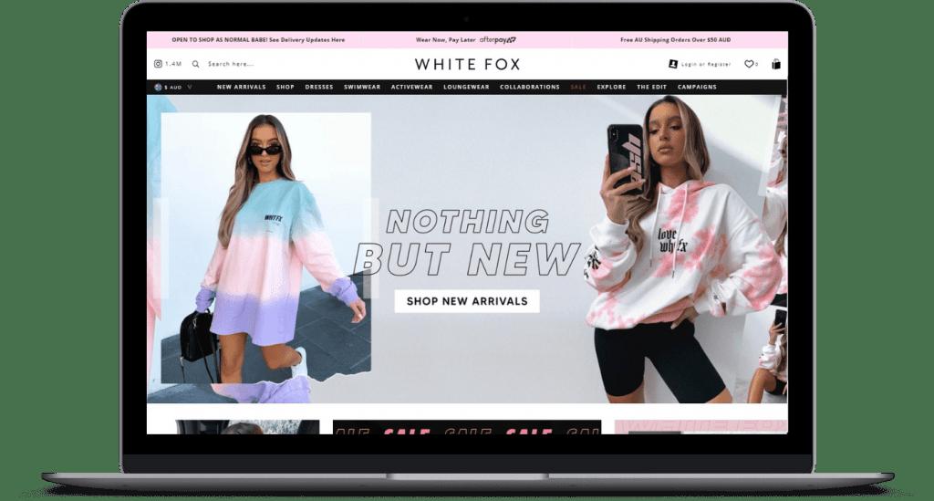 White Fox discount